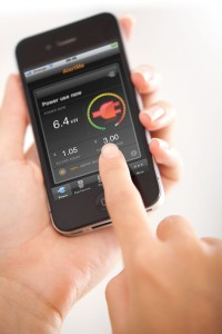 Smart Energy interface for iPhone