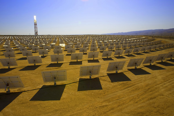 BrightSource Energy worked closely with Google on heliostat technology (Pic: BrightSource Energy)