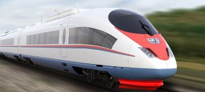 Siemen's Velaro high speed train