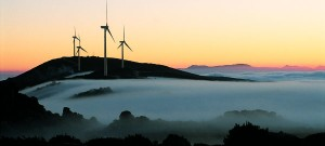 A farm of onshore Vestas turbines in Portugal (Source: Vestas)