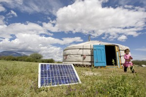 An estimated two billion people live without electricity, technology transfer can help reduce this figure. Climate change