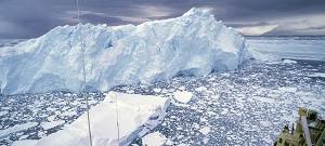 Gary Braasch shot of disintegrating Muller ice shelf
