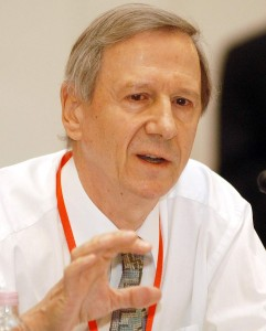 Lord Anthony Giddens, former advisor to Tony Blair