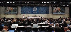 UN negotiations at COP15 in Copenhagen