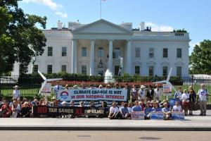 Whitehouse protests against Keystone XL
