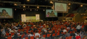The main plenary session at COP17 in Durban