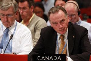 Canadian politician Peter Kent