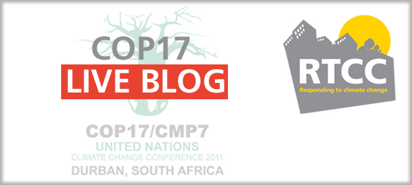 Day 6 - Breaking news from COP17
