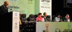 "COP17: Business ""shrugs its shoulders"" at Durban outcome"