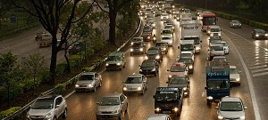 US and UK drivers cutting back on mileage
