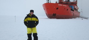Letter from Antarctica: Hunting ocean acidification at the South Pole