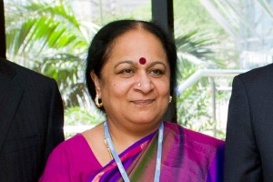 Jayanthi Natarajan at the UNFCCC climate change talks in Durban