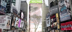 Virtual reality trees could fight climate change