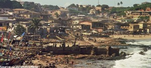Coastal erosion major threat to West Africa
