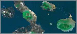 Satellite Image: Intensification of ENSO Effects in the Galapagos Islands