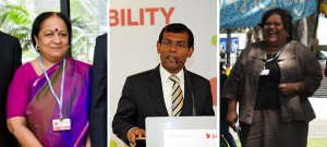 Who's the next Mohamed Nasheed in the climate debate?