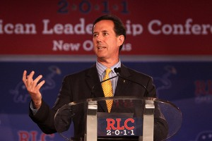 RTCC - Rick Santorum has surged to the front of the Republican pack in recent weeks