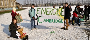 Student Action: Promoting renewable energy at Cambridge University