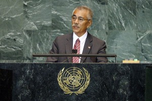 Kiribati president rejects climate change evacuation stories
