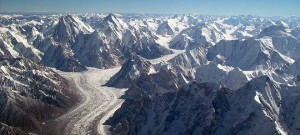 Asian glaciers bucking trend of climate change ice melt