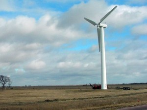 Wind farms could affect local weather
