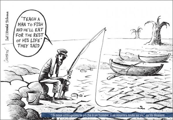 Cartoon 2 Fishing In The Desert