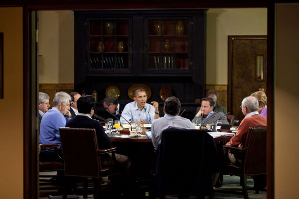 G8 leaders sign-up to Obama and Clinton's climate plan