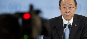 Ban Ki-moon: 40 days and 40 nights to ensure Rio+20 is success