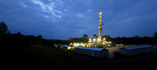Shale gas fracking and climate change
