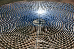 CSP Solar power plant, a good way for sunny countries to reduce their impact on climate change