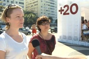 Rio+20: Bringing the favela to Copacabana beach
