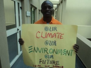 Youth Profile #1: How Nigerian Climate Coalition are building green bridges ahead of COP18