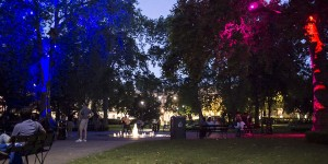 London Olympics art display breathes new life into importance of urban forestry