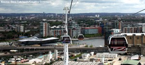 London's Cable Car: Is this an Olympic gimmick or a new sustainable transport concept for cities around the world?