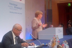 Merkel: equity means all states making equal efforts to fight climate change