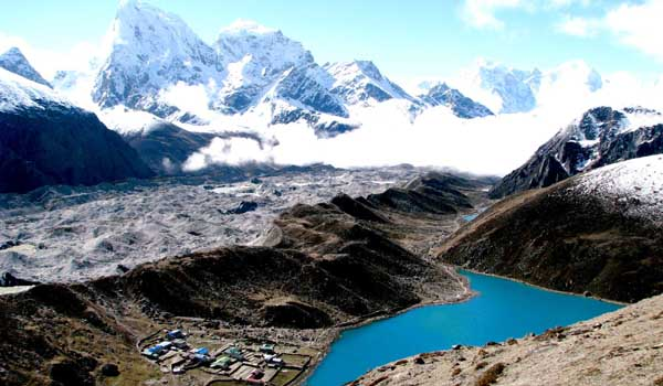Nepal faces increased risks of flooding and water shortages as global warming affects glaciers (Source: Amit Poudyal)