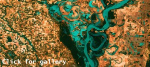 LANDSAT at 40: NASA's Earth as Art gallery