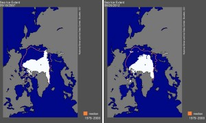 Arctic sea ice reaches record low, says NASA