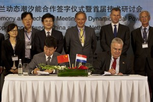 China and Netherlands sign deal for world's largest tidal energy project