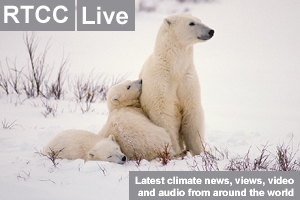 Climate Live: Shell boss defends Arctic plans and coral reefs under threat from climate change