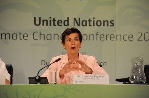 Figueres issues update on COP18 Doha climate talks