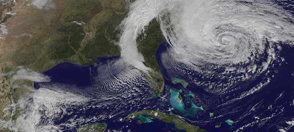 Hurricane Sandy: the climate change alert the USA was fearing