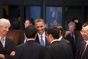 Obama pledges climate change leadership in second term