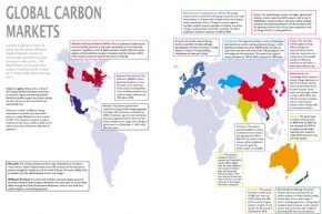 The world's carbon trading schemes mapped