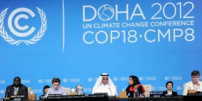 Doha protests as doubts grow over Qatari leadership at UN climate talks