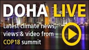 COP18 Live: Latest news from Day 9 of Doha climate summit
