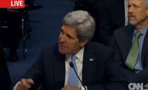"John Kerry promises to be ""passionate advocate"" on climate change"