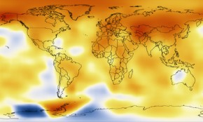 NASA animation charts global warming since 1880