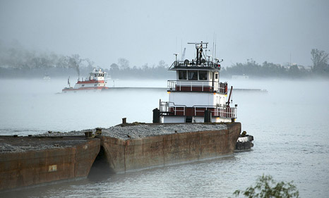 Drought set to close Mississippi River trade route