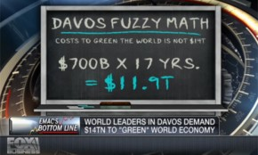 Davos 2013: Fox News climate analysis makes up the maths